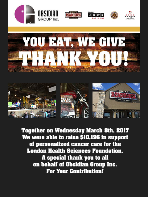 giving chucks roadhouse bar and grill