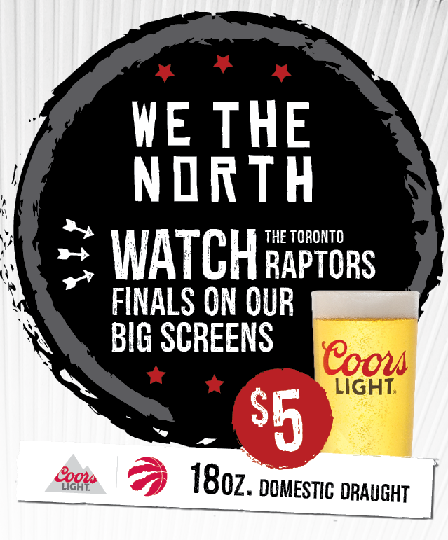 Chuck's Roadhouse Raptors Finals!
